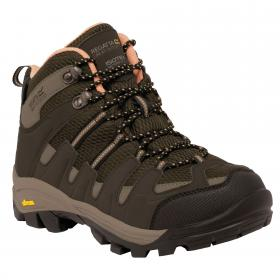 Lady Burrell Hiking Boot Brown Coral