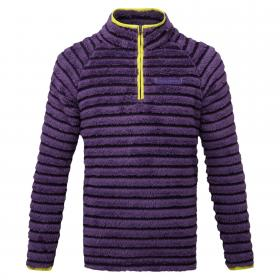 Appleby Half Zip Dark Plum Combo