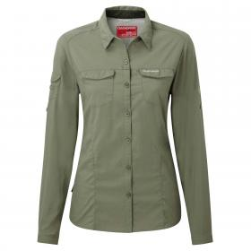 NosiLife Adventure Long Sleeved Shirt Soft Moss