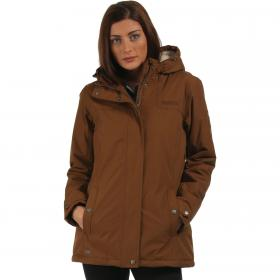 Brodiaea Jacket Saddle Brown
