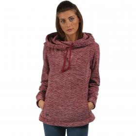 Kizmit Hooded Fleece Rhubarb Red