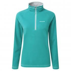 Seline Half Zip Bright Turquoise