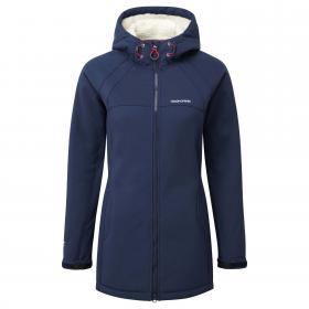 Eada Hood Jacket Night Blue