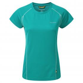 Vitalise Base T-Shirt Bright Turquoise