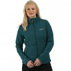 Connie III Softshell Jacket Deep Teal Lake