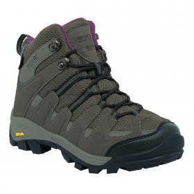 Lady Burrell Hiking Boot Walnut   Deco Rose