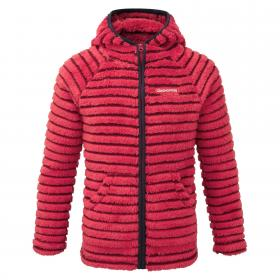 Earlton Fleece Jacket Maple Red
