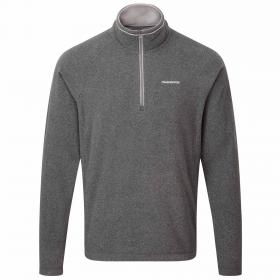 Selby Half Zip Black Pepper Marl