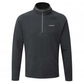 Selby Half Zip Black Pepper