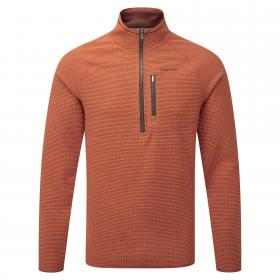 Liston Half Zip Burnt Orange