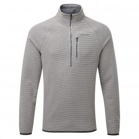 Liston Half Zip Quarry Grey