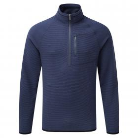 Liston Half Zip Night Blue
