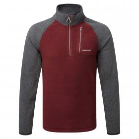 Salisbury Half Zip OxBlood Black