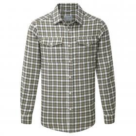 Kiwi Long Sleeved Check Shirt Black Pepper