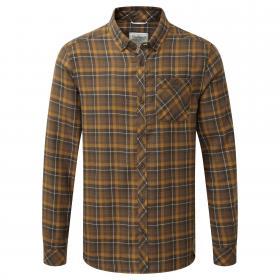 Kearney Long Sleeved Check Shirt Dirty Olive