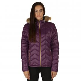 Endow Microwarmth Jacket Shadow Purple