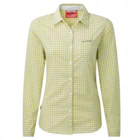 NosiLife Olivie Long Sleeved Shirt Citronella Combo