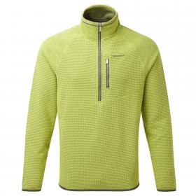 Liston Half Zip Spiced Lime