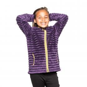 Girls Appleby Jacket Dk Plum Comb