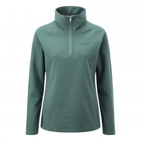 Somerton Half Zip Lake Green