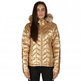 Endow Microwarmth Jacket Metallic Gold