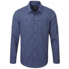 Kiwi Trek Long-Sleeved Shirt Dusk Blue