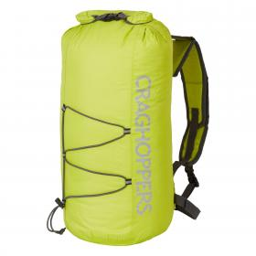 15L Packaway Waterproof Rucksack Yellow Quarry