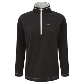 Seline Half Zip Black
