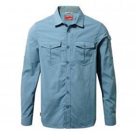 NosiLife Adventure Long Sleeved Shirt Smoke Blue