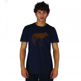 Abundance T-Shirt Blue Brown
