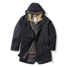 Craghoppers 364 3-in-1 Hooded Jacket - Black Black Pepper