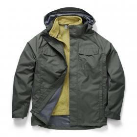 Wheeler 3 in 1 Jacket Dark Khaki Olive