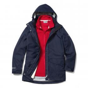 Madigan III 3 in 1 Jacket SoftNavy Red