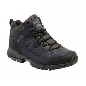 Holcombe Mid Walking Boot Navy Granite