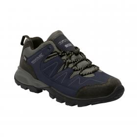 Holcombe Low Walking Shoe Navy Granit
