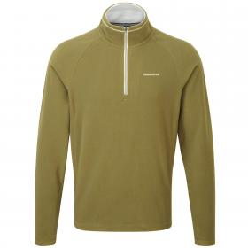 Selby Half Zip Light Olive