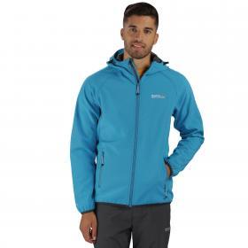 Arec Softshell Jacket Blue Seal Grey