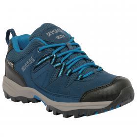 Holcombe Low Junior Shoe Blue Wing Methyl