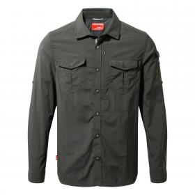 NosiLife Adventure Long Sleeved Shirt Black Pepper