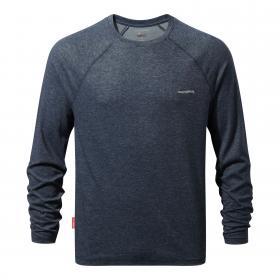 NosiLife Bayame Long Sleeved T-Shirt Soft Navy Marl