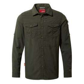 NosiLife Adventure Long Sleeved Shirt Dark Khaki