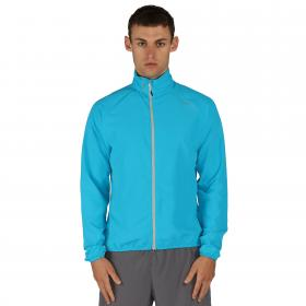 Fired Up Windshell Jacket Fluro Blue