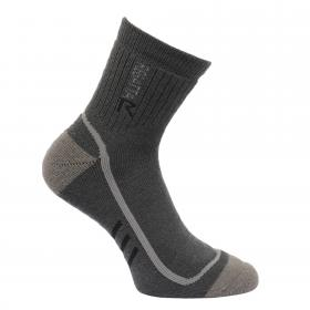 Regatta Mens 3 Season Heavyweight Trek and Trail Socks - Iron