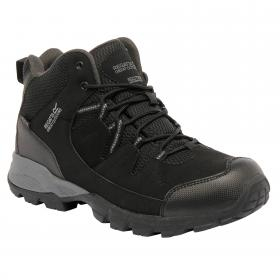 Holcombe Mid Walking Boots Black/Granite