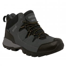 Holcombe Mid Walking Boots Seal Grey