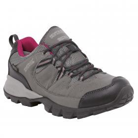 Regatta Lady Holcombe Low Walking Shoe - Steel Vivacious