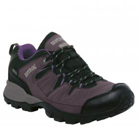 Regatta Lady Holcombe Low Walking Shoe - Shark Blackberry