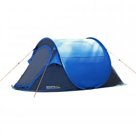 Malawi 2 Man Pop Up Tent - Blue Seal Grey
