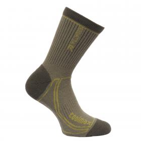 Regatta Mens 2 Season Coomax Trek & Trail Sock - Dusty Olive Spring