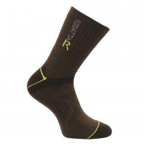 Regatta Mens Blister Protection Socks - Clove Oasis